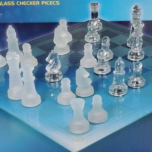 Other - Kids stuff Glass chess & Checker set
